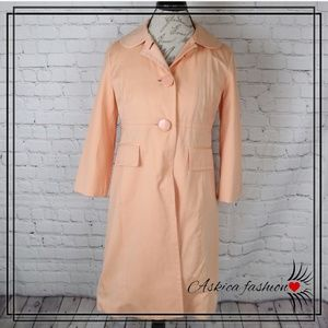 Nine West Apricot Trench Coat